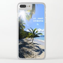 St. John Strong Clear iPhone Case