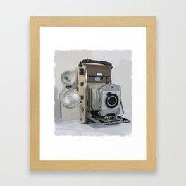 Vintage Polaroid Framed Art Print