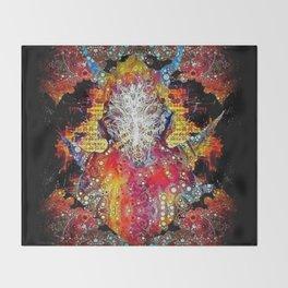 Satyr Throw Blanket