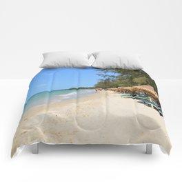 Otres Beach Sihanoukville Cambodia Comforters