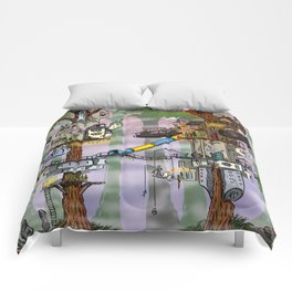 Modern Pixie Kingdom Comforters