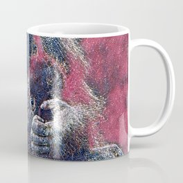 GlitzyAnimal_OrangUtan_001_by_JAMColors Coffee Mug