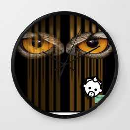 Looking Out by JC LOGAN 4 SimplyBlessed Wall Clock