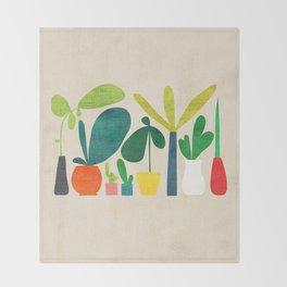 Greens Throw Blanket