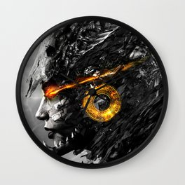 Warrior Angel Wall Clock