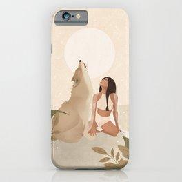 Spirit Animal – Wolf iPhone Case
