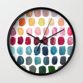 Color Palette Wall Clock