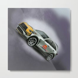 Infiniti QX70 RB Edition Metal Print