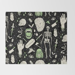 Whole Lotta Horror: BLK ed. Throw Blanket