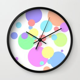 circles2. Wall Clock