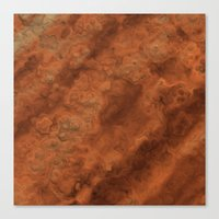 mars Canvas Prints featuring Mars by Lyle Hatch
