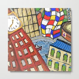 Baltimore In My Dreams Metal Print