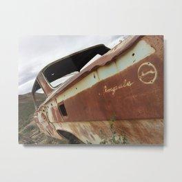 Rusty antique Impala Metal Print