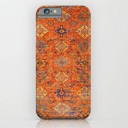 Oriental Vitange Moroccan Rug Design iPhone Case