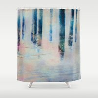 imagine Shower Curtains featuring Imagine by Shawn King