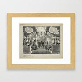 Darkness to Light Framed Art Print