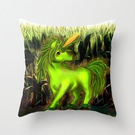 UniCORNio Throw Pillow