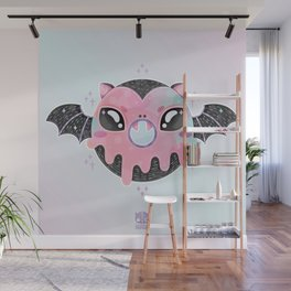 Batty Donut Wall Mural