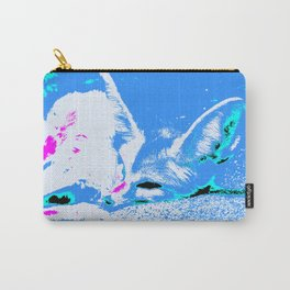 Pop Art Fennec Fox Carry-All Pouch
