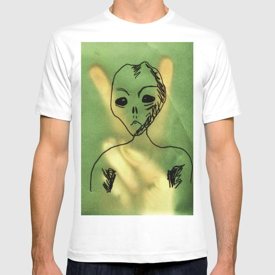 We Come In Peace. T-shirt