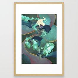 The Dreamteller of Sleepwalkers Framed Art Print