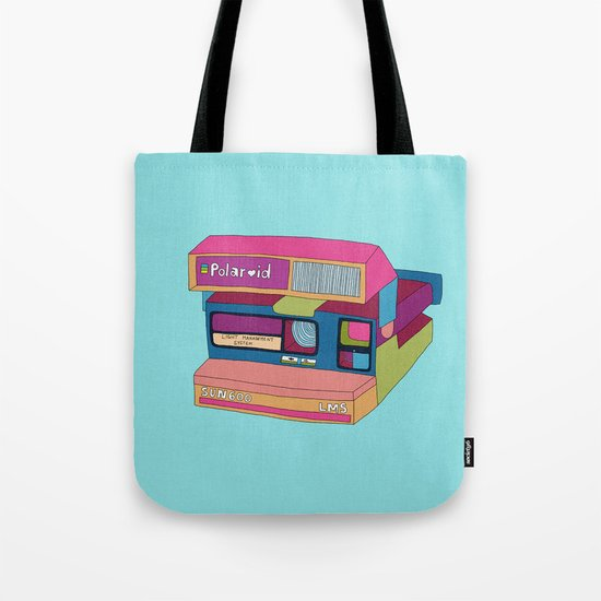 Captures Great Moments (color fun) Tote Bag
