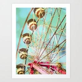 Ferris Wheel 3 Art Print