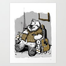 Big Bear Art Print