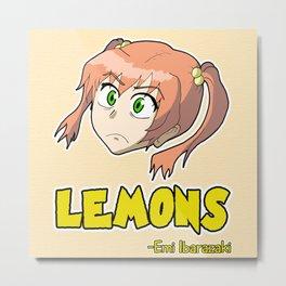 Emi Lemons Quote Typography  Metal Print