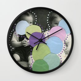Lumps Wall Clock