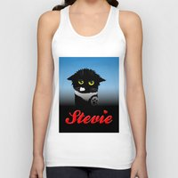 stevie nicks Tank Tops featuring Stevie by Mike Halliday