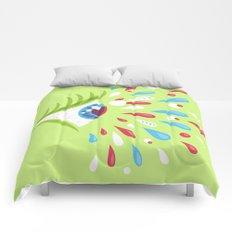 Psychedelic eye Comforters