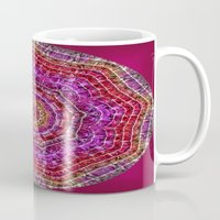 kaleidoscope Mugs featuring Kaleidoscope by Zenya Zenyaris
