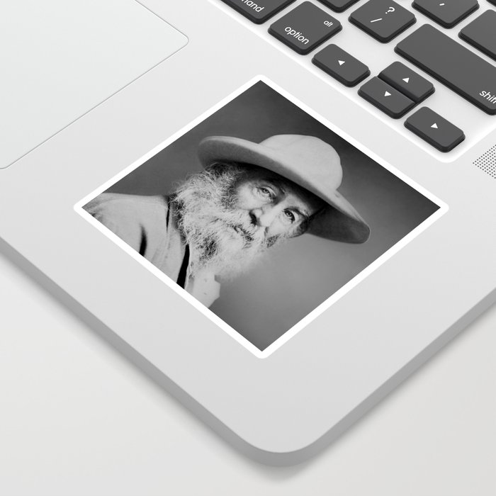 Walt Whitman Portrait Sticker