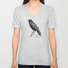Raven M Unisex V-Neck