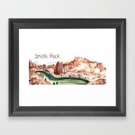 Smith Rock, Oregon Framed Art Print