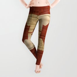 Dear Stamp Collector Leggings