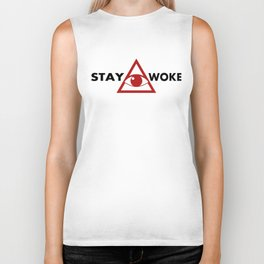 Stay Woke #blacklivesmatter Protest Biker Tank