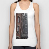chelsea Tank Tops featuring Chelsea by Leah Moloney Photo