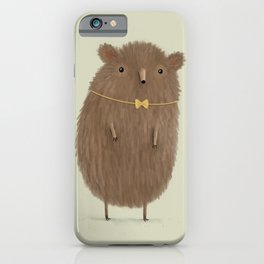 Grizzly Made an Effort iPhone Case