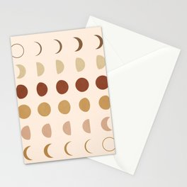 Flow of the Phases Stationery Cards