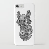 toothless iPhone & iPod Cases featuring TOOTHLESS by FilippoCardu