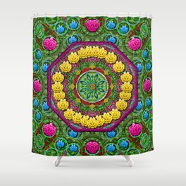Bohemian chic in fantasy style Shower Curtain
