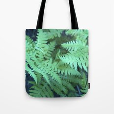 Midnight Ferns Tote Bag