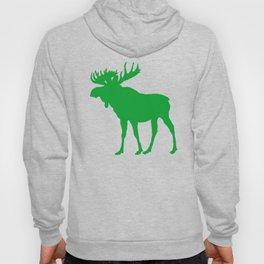 Moose: Green Hoody