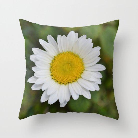 Daisy, Pure & Simple Throw Pillow