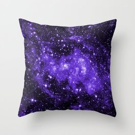 Chandra Ultraviolet Throw Pillow
