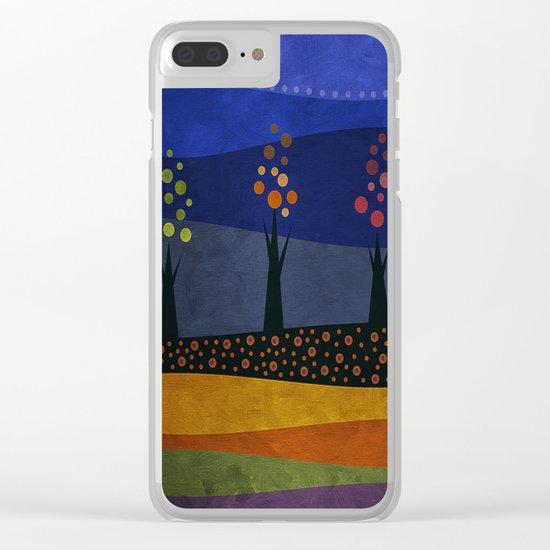 Color/Landscape 1 Clear iPhone Case