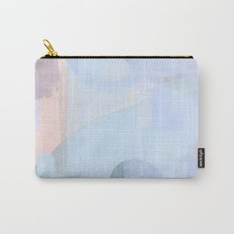 Washed denim: Abstract painting Carry-All Pouch