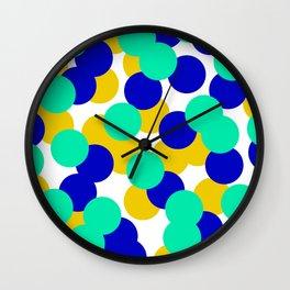 Colour Dots 05 Wall Clock